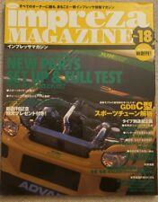 JDM Hyper Rev Impreza Magazine #15 for Subaru GDA GDB WRX STi
