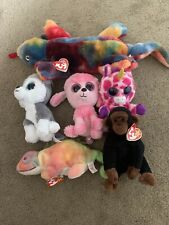 Beanie Baby Lizzy Tye Dye Plus Other Babies And Boos