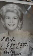 """DEBBIE REYNOLDS IN """"SINGING IN THE RAIN """" PHOTO AUTOGRAPH"""
