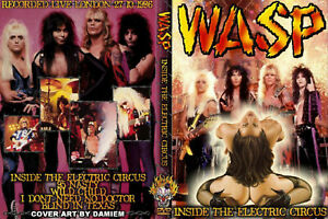 W.A.S.P.  London England 1986 (Electric Circus)