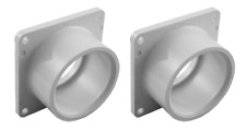 """Valterra Products: PVC 1-1/2"""" Slip Gate Valve Repair Flanges - Pair: 1005-1W"""