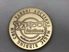 Yahoo Auctions Magic Bidding Coin Large Silver Dollar Size Bronze Medal Token