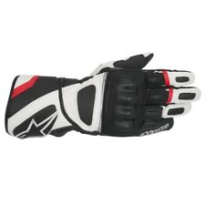Alpinestars SP-Z Drystar Waterproof Motorcycle Gloves - Black/White/Red