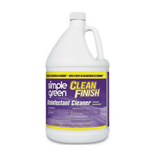 Simple Green Clean Finish Disinfectant Cleaner kills 99.9%, 1 gal Bottle, Herbal