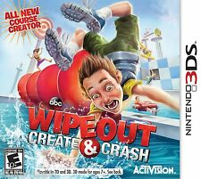 Wipeout Create & Crash Nintendo 3DS Brand New Sealed Fast Shipping