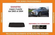 pellicola oscurante vetri dahiatsu copen 2p dal 2003-2004 kit lunotto