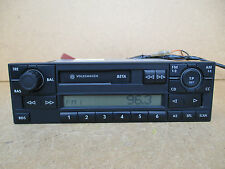 Volkswagen VW Polo Golf Passat Seat BETA Radio Stereo Tape Player with CODE