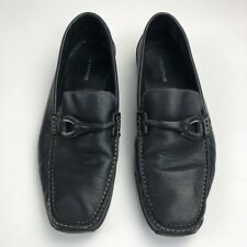 Ceania Men's Shoes Loafers Black Slip On Dress Casual Size 12