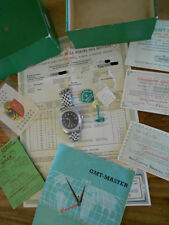 ROLEX VINTAGE 6542 GMT MASTER  WITH ALL PAPERS & TIMING CERTIFICATE