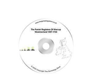 The Parish Registers Of Warcop Westmorland 1597-1744
