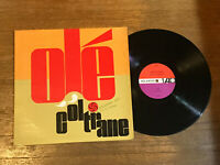 John Coltrane LP - Ole Coltrane - Atlantic 1373 Mono Pressing 1961