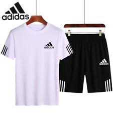Adidas Sport T-Shirt Short Sleeves & Short Pants   One Set Shirt + Pants