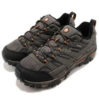 Merrell Moab 2 GTX Wide Gore-Tex Grey Black Men Outdoors Hiking Shoes J06039W