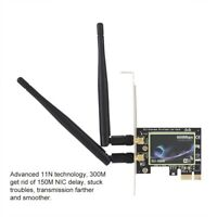 600M Wireless PCI-E X1 Card Dual Band WiFi Network LAN Ethernet Adapter For PC
