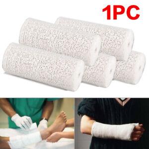 1 Roll Plaster Bandages Cast Orthopedic Tape Cloth Gauze Premium 8 X 300cm