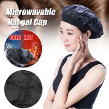 Steaming Heat Cap Hair Care Dual Use Caps Microwavable Hat Gel Cap Hair Cover'