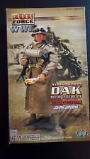 ELITE FORCE AFRIKA KORPS DAK MOTOR CYCLE RECON PANZER BATTALION JOHAN JERGENS