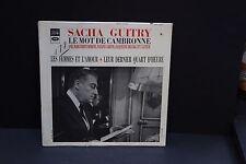 LP: Sacha Guitry Le Mot de Cambronne Les Femmes & L'Amour EMI