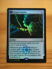 Mtg Rivals of Ixalan Primal Amulet Buy a Box Promos FOIL NM
