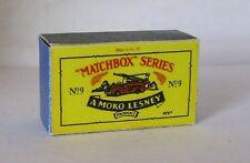 Repro Box Matchbox 1:75 Nr.09 Dennis Fire Escape China
