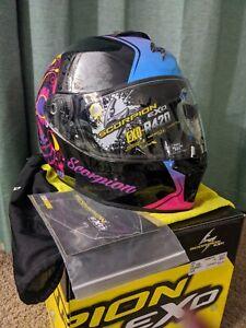 Scorpion EXO-R420 Full Face Helmet Size XL 61-62cm DOT/SNELL