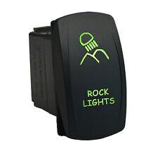 Rocker switch 615G 12V ROCK LIGHTS Laser LED green waterproof
