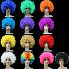 1 X Unisex Clown Wig Circus Funny Fancy Party Dress Accessory Stage Disco Joker