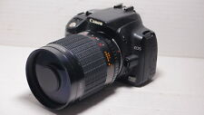 LENTE 500 MM = 750 mm su Canon Digital 700D per la fotografia della fauna selvatica 1200D 5D 6D EOS