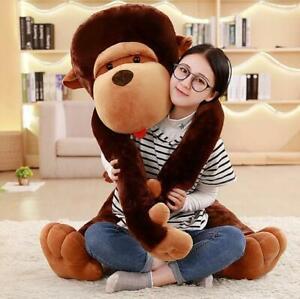 Giant Plush Monkey Toy Huge Large Toy Stuffed Monkey Animal Doll gifts Christmas