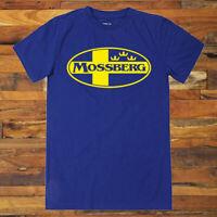 Mossberg Guns Firearms Rifles Logo Men's Blue T-Shirt S to 3XL