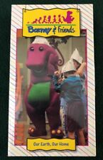 Barney & Friends Our Earth Our Home VHS Time Life Video 1992