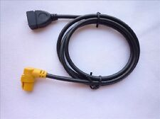 Car Aux-in Adapter USB Cable Cord for Volkswagen Jetta Golf MK5 MK6 Passat B6
