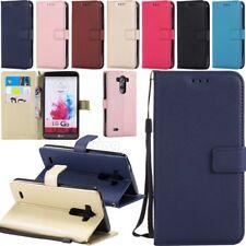 Luxury Card Holder Wallet Flip Leather Case Cover For LG G6 G5 G4 G3 V30 V20 Q6