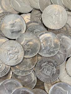 Kennedy Half Dollars 1964, 90% Silver, Circulated, Choose Quantity