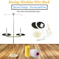 1pc. ALL METAL 2 SPOOL THREAD STAND SEWING MACHINE PART INDUSTRIAL US