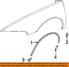Buick GM OEM 95-99 Riviera Fender-Wheel Fender Flare Molding Retainer 25639946