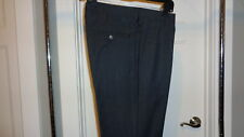 NEW BONOBOS Grey Plaid Dress Pants Marzotto Italian Wool Straight Leg 32/34