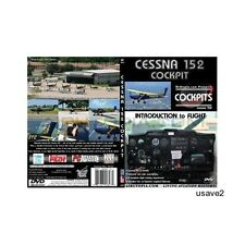 """Airutopia Cessna 152 Cockpit-Introd Flight Series-""""Learn How to Fly"""" DVD Video"""