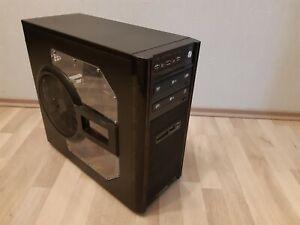 Gaming Aufrüst-PC, 600W, ASUS-Mainboard, AMD Phenom, 16Gb-RAM, SSD+HDD+2xDVD