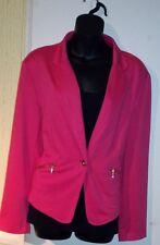 Lady's Coral Seppala Great Coral Fashion Blazer Size 46/48