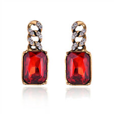 ZARA RED VINTAGE STYLE   STUD EARRINGS