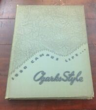 The Aerie Annual / Yearbook 1950 The College Of The Ozarks Clarksville Arkansas