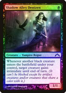 Shadow Alley Denizen FOIL Gatecrash NM Black Common MAGIC MTG CARD ABUGames