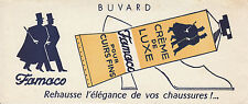 Buvard Vintage  Famaco Crème de Luxe pour Cuirs fins