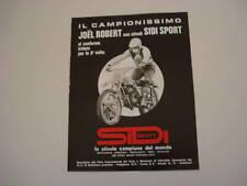 advertising Pubblicità 1972 JOEL ROBERT e  SIDI