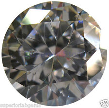 6.50 mm 1.00ct  Round Cut Lab Diamond, Simulated Diamond WITH LIFETIME WARRANTY
