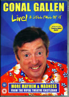 Conal Gallen Live! & Still Full of It (2008 Show of the Superb Irish Comic) DVD