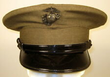 USMC US Marine Corps Male Enlisted Alpha Service Dress Hat Cap Cover 6 7/8 or 55