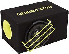 Ground Zero Gzrb 20spl Subwoofer 20cm in Cassa Reflex dalle dimensioni ridotte