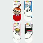 Moomin Socks 4 Pairs set Womens Ladies Cute Ankle Socks Cartoon Characters